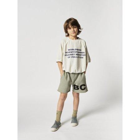 kids bobo choses WIMAMP short sleeve terry sweatshirt - Gray