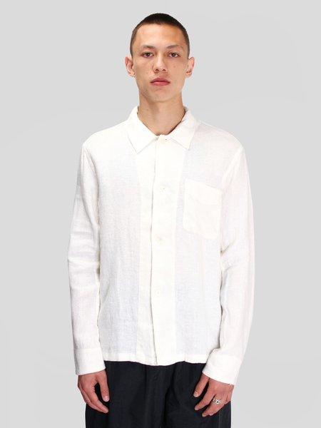 Our Legacy Box Shirt - White Rough Sack