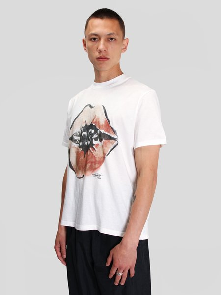Our Legacy Box T-Shirt - White Show Kiss Print