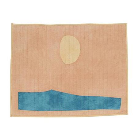 Vanessa Chow Ocean Pacific West Peach Quilt - Peach/Birchwood