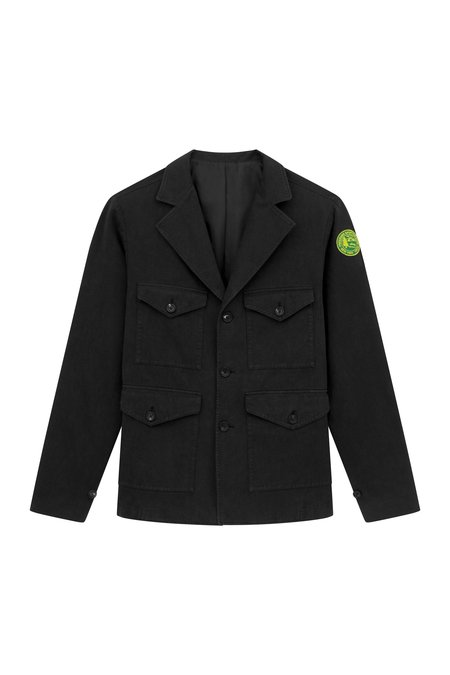 Freemans Sporting Club Pocket Coat - Black