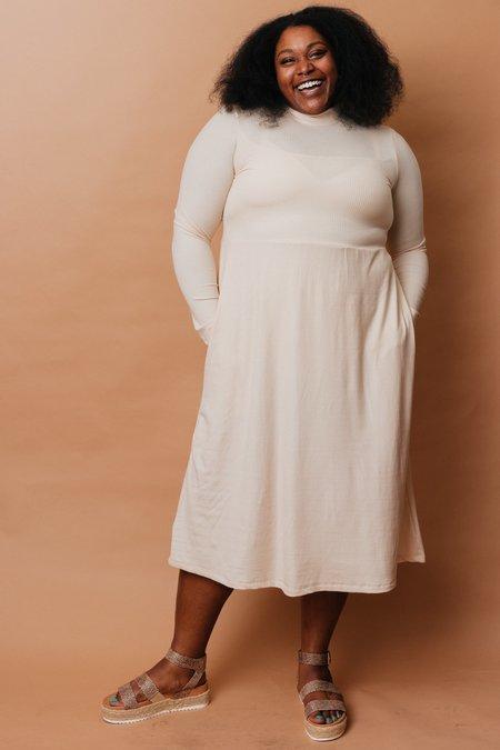Altar Houseline Megumi Dress - Oatmeal