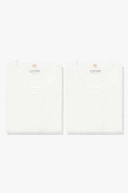 Lady White Co. 2 pack Our T-Shirt - White