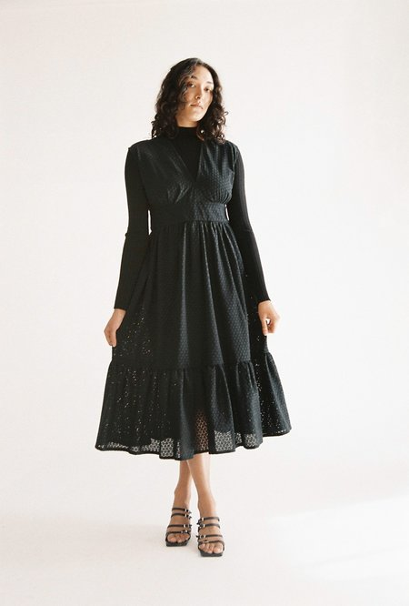 Sunshine Symbol Billie dress - black