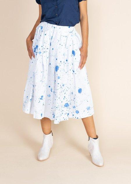 Uqnatu Belle Skirt - blue constellation