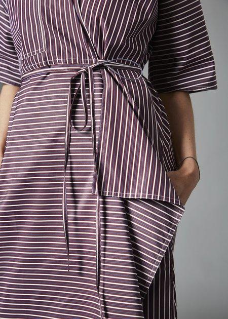 Sofie D'Hoore Dina Dress - Bordeaux