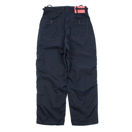 N.hoolywood Wide Leg Tactical Pants - Navy