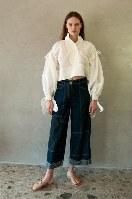 Untitled.CO Limi Crop Top - White