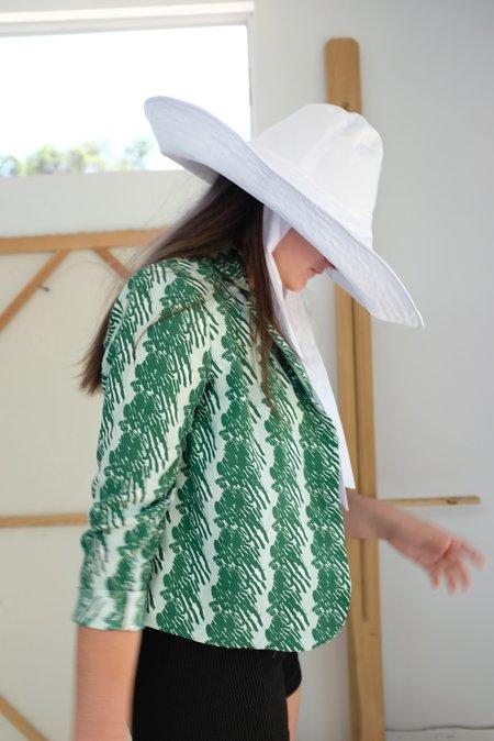 Beklina Voluminoso Tie Hat - White