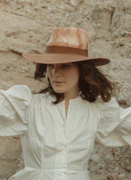 Freya Oak Hat - Rust