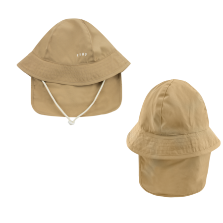 kids Tinycottons Tiny Solid Bucket Hat - Brown