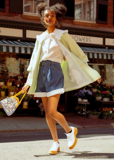 Ottod'ame Kimono Jacket - Pistacchio