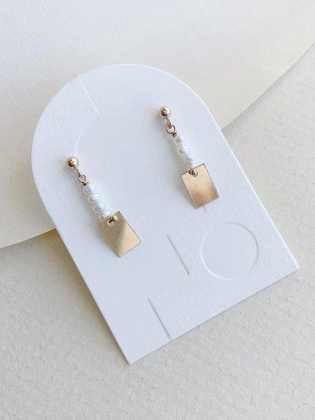 HighLow Pilar Earrings - Gold
