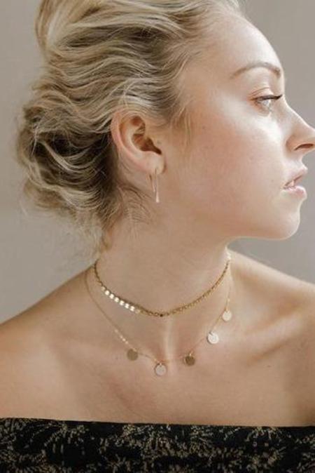 Token Suncatcher Necklace - Gold