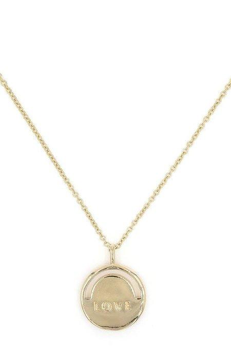 SHEISME Love Rose Quartz Necklace