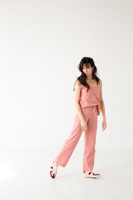 Salua Atelier Lingerie Woven High Waisted Pants