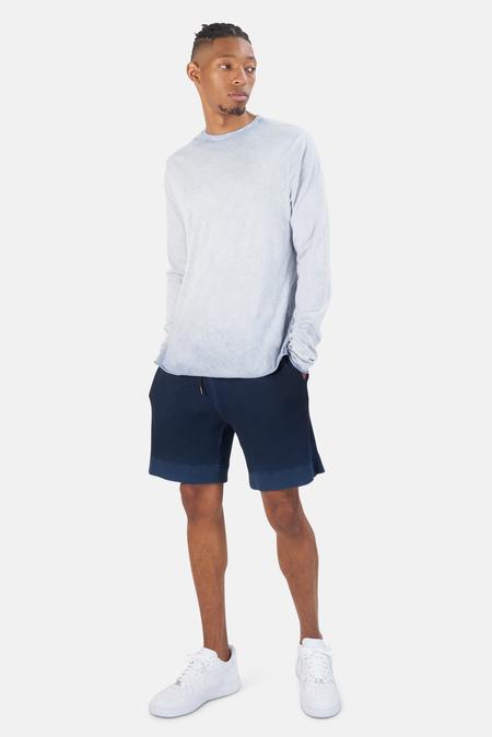 Cotton Citizen Jagger LS T-Shirt - Natural Blue Dip