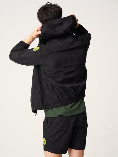 Freemans Sporting Club Hooded Rain Jacket - Black