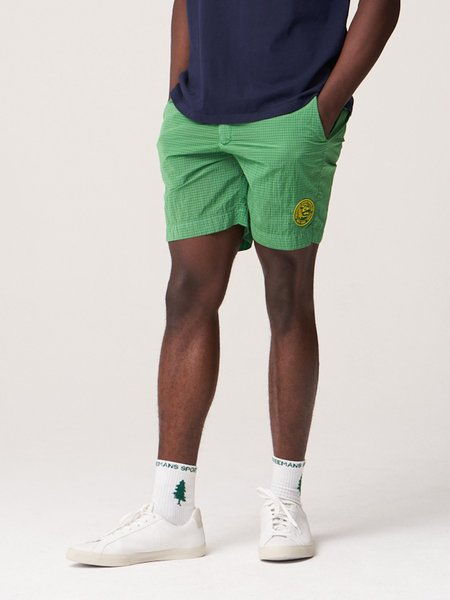 Freemans Sporting Club Running Short - Dark Green