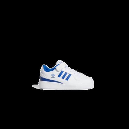 kids adidas Forum Low Sneaker - Cloud White / Royal Blue