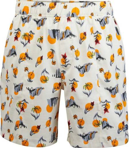 The North Face Class V Pull On Short - Vintage White/Vally Sun Print