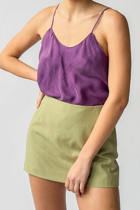 Vintage Silk Cami - Lilac