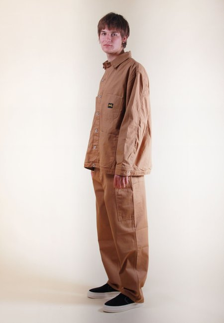 Stan Ray Lined Barn Coat - brown duck