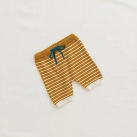 Kids Fin & Vince Zion Knit Short - Goldenrod
