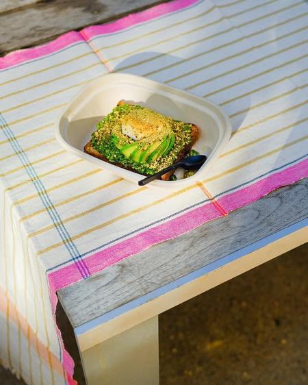 Siri Hansdotter Soil to Studio Nirmala Organic Cotton Table Runner