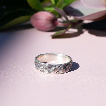 Siri Hansdotter Western Floral Band Ring
