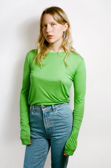 BASERANGE Long Sleeve Tee - Ara Green