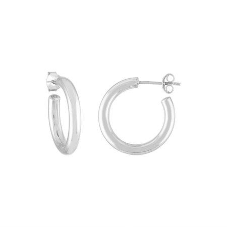 Machete Perfect mini Hoops - silver