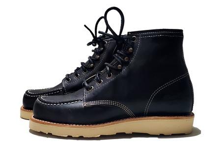 Thorogood Janesville Moc Toe shoes - Black