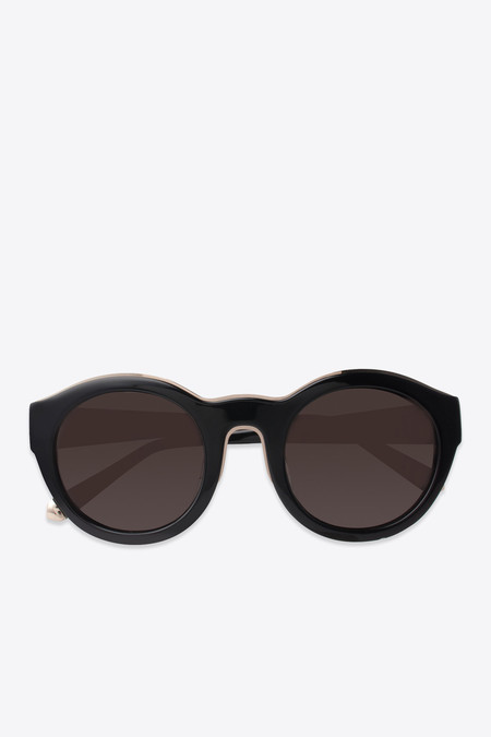 Kate Young for Tura Samantha Sunglasses in Black