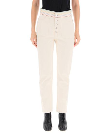 RE/DONE High Waist Jeans - Cream