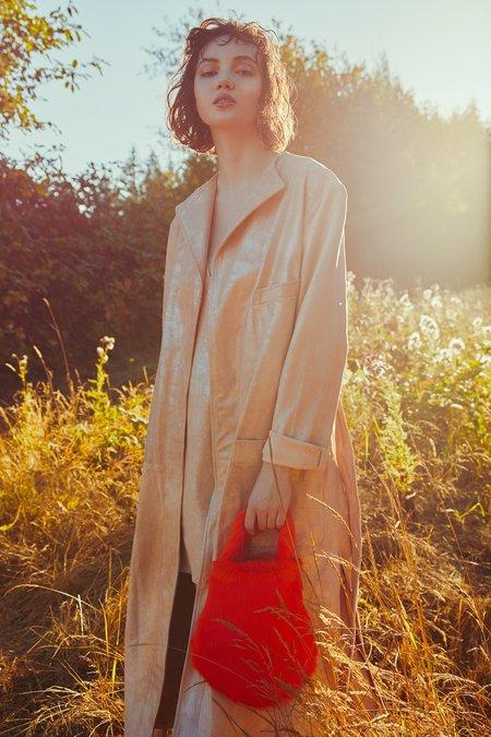 alyson eastman Hani Jacket - Rose Suede