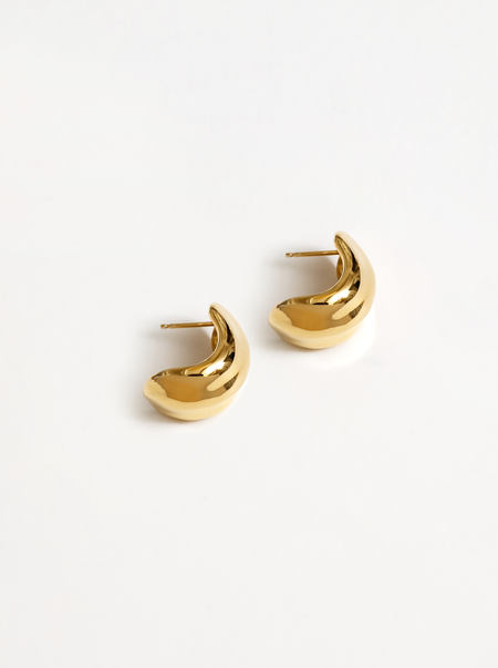 Wolf Circus Bodie Hoops - Gold