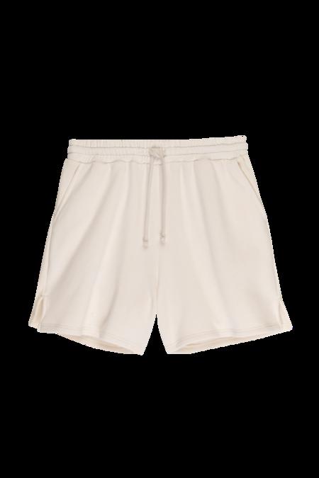 Donni Vintage Fleece Shorts - creme