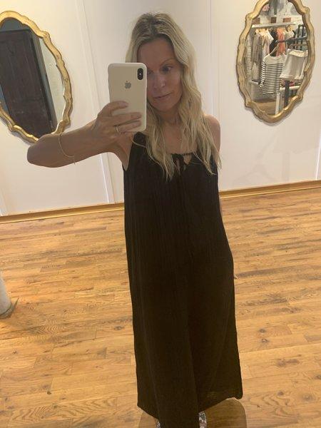 Michael Stars Naomi Front 2 Back Adjustable Strap Dress - black