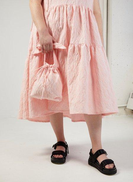 Eliza Faulkner Jacquard Mini Bunni Bag - Pink