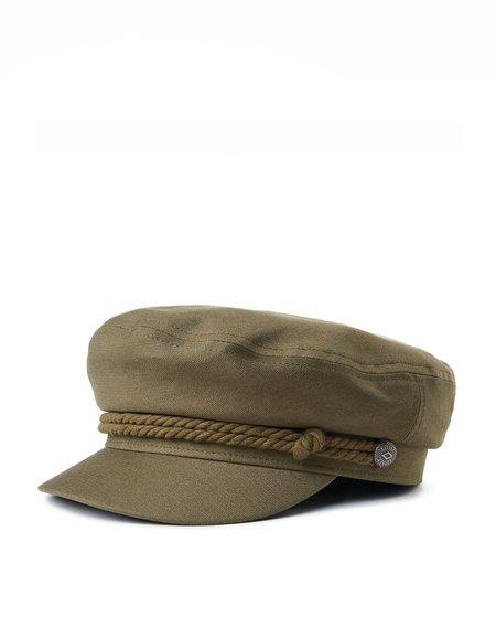 Brixton Fiddler Cap - Military Olive