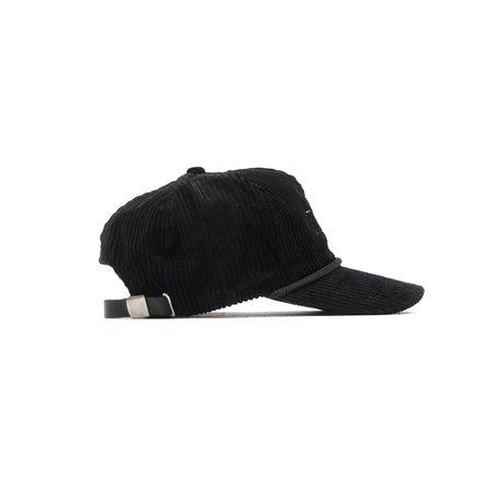 REBORN VINTAGE CORDUROY TRUCKER HAT - Black