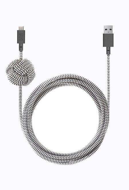 Native Union Night Cable - Zebra