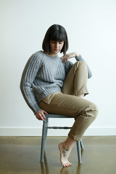 Objects Without Meaning Rib Sweater