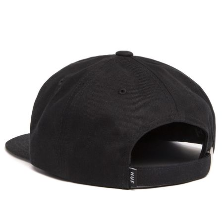 HUF Hydrant Unstructured 6-Panel Hat - Black