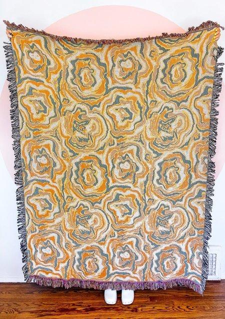 Dazey LA Bloom Baby Blanket