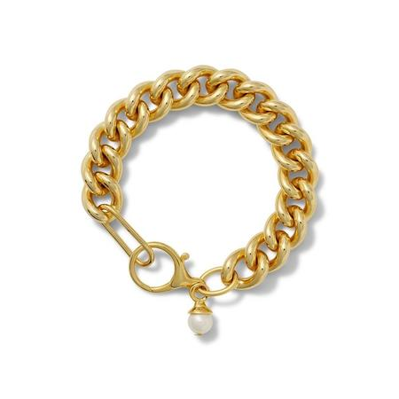 CC & Co Love Your Curbs Bracelet - Gold