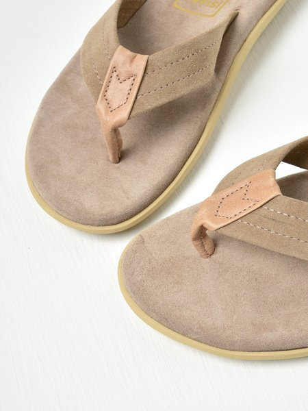 ISLAND SLIPPER CLASSIC ULTIMATE SUEDE SHOES - TAUPE