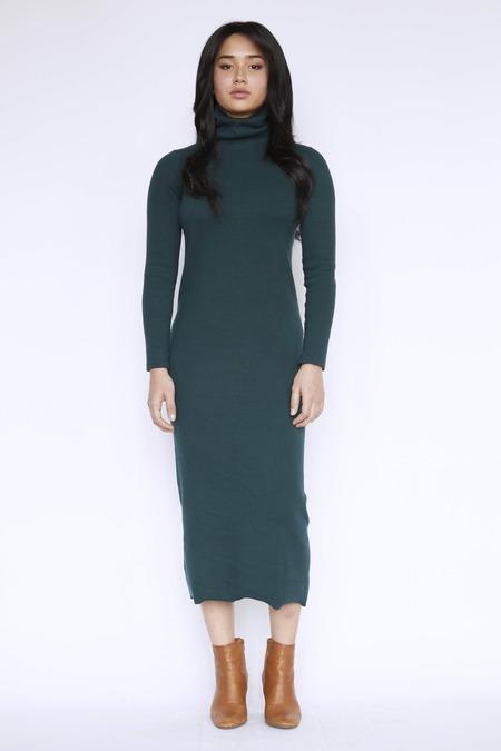 Christine Alcalay Cotton Rib Kara Dress
