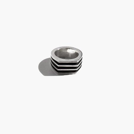 Kindred Black Beltraneja Ring - Silver